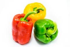 Zoete groene paprika Royalty-vrije Stock Afbeeldingen