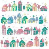 Zoete het huisillustratie van het huis Royalty-vrije Stock Afbeeldingen