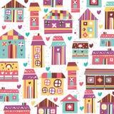 Zoete het huisillustratie van het huis Stock Foto's