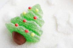 Zoete Kerstboom stock fotografie