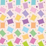Zoete kleurrijke koekjes vector naadloze achtergrond Royalty-vrije Stock Fotografie
