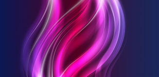 Zoete kleurrijke levendige stroomachtergrond in vector Royalty-vrije Stock Fotografie