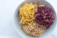 Zoete knapperige aardappelsnack Stock Afbeeldingen