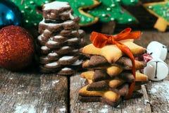 Zoete koekjes Stock Afbeeldingen