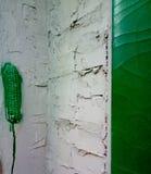 Zoete maïs in de stad stock fotografie