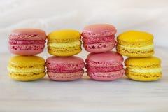 Zoete Macarons royalty-vrije stock afbeeldingen