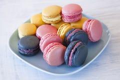 Zoete Macarons stock afbeelding