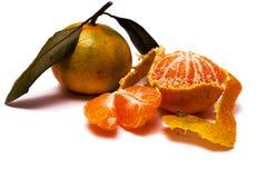 Zoete mandarin Royalty-vrije Stock Foto