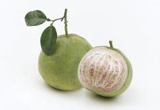 Zoete pompelmoes het tropische fruit van Thailand Stock Afbeeldingen