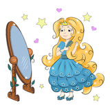 Zoete Prinses Stock Afbeelding