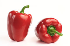 Zoete rode groene paprika Stock Fotografie