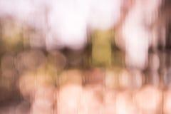 Zoete roze bokeh onscherpe nadruk als achtergrond Royalty-vrije Stock Foto's