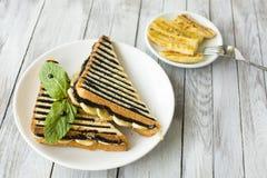 Zoete sandwich Royalty-vrije Stock Afbeeldingen