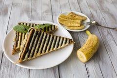 Zoete sandwich Stock Foto's