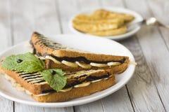 Zoete sandwich Royalty-vrije Stock Fotografie