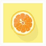 Zoete sinaasappel vector illustratie
