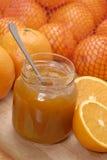 Zoete sinaasappel. Stock Foto