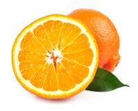 Zoete sinaasappelenvruchten Stock Foto