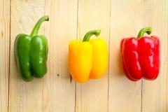 Zoete Spaanse pepers Stock Foto's