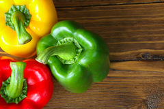 Zoete Spaanse pepers Royalty-vrije Stock Afbeelding