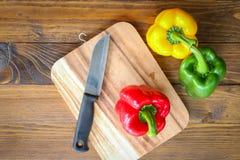 Zoete Spaanse pepers Stock Afbeeldingen