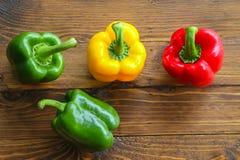 Zoete Spaanse pepers Stock Foto