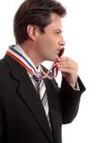 Zoete succes bedrijfsoverwinning Stock Afbeelding
