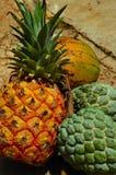 Zoete tropische vruchten royalty-vrije stock afbeelding