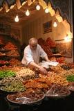 Zoete verkoper in Marrakech Stock Afbeelding