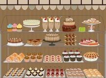 Zoete winkel Stock Foto's