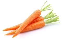 Zoete wortelen Stock Afbeeldingen