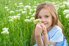 Zoeter met de bloem Royalty-vrije Stock Afbeelding