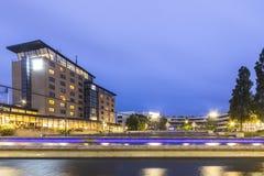 Zoetermeer μετά από το σκοτάδι Στοκ εικόνα με δικαίωμα ελεύθερης χρήσης