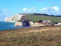 Zoetwater Baai, het Eiland Wight royalty-vrije stock fotografie