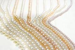 Zoetwater de pareljuwelen van Zhejiang Stock Afbeelding