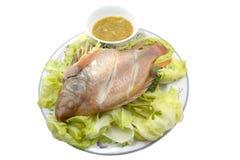 Zoetwater gestoomde vissen Royalty-vrije Stock Fotografie