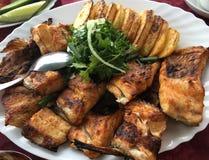 Zoetwaterwitte viscoregonus lavaretus bij meer Sevan Royalty-vrije Stock Fotografie
