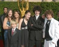 Zoey 101 echó el auditorio creativo el 11 de septiembre de 2005 de la capilla de los Premios Emmy de los artes Fotos de archivo