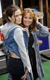 Zoey Deutch and Lea Thompson Stock Images