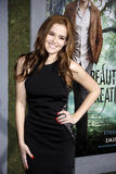 Zoey Deutch. At the Los Angeles premire of Beautiful Creatures held at the TCL Chinese Theater in Hollywood, United States, 060213 Stock Photo