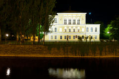 Zofin palace at night Royalty Free Stock Photo