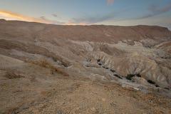 Zohar谷的风景  免版税库存照片