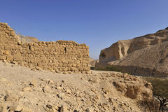 Zohar fortress in Judea desert. Stock Photo