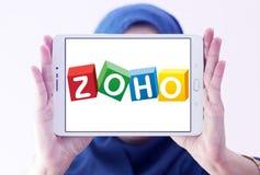 Zoho Korporation logo Royaltyfri Fotografi