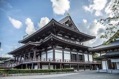 Zoji-Ji Tempel Tokyo stock afbeelding