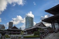 Zoji-Ji Tempel Tokyo stock foto's