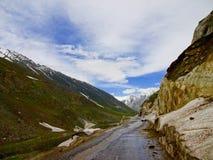 Zoji La mountain pass Royalty Free Stock Image