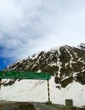Zojila Pass, Himalayas Stock Image
