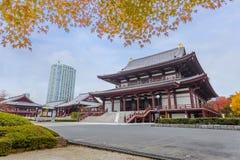 Zojoji寺庙在东京 免版税图库摄影