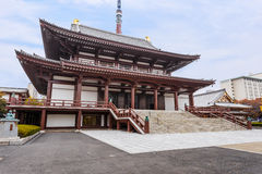 Zojoji-Tempel in Tokyo lizenzfreie stockfotos